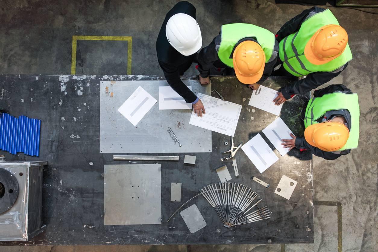 sécurité de travail en bâtiment